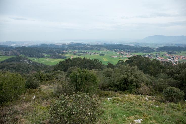 Vista desde el Pico de la Gigüela, en Peñas Negras.