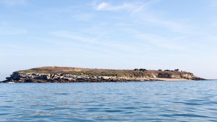 Panorámica de la Isla de Santa Marina.