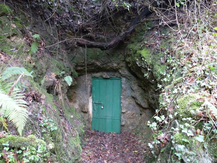 Entrada a la Cueva de El Juyo