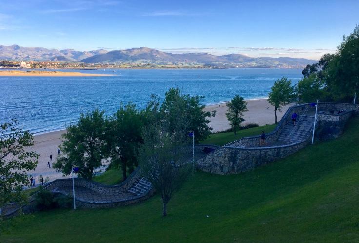 Vista de la playa de Los Peligros