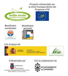 Entidades colaboradoras en la Casa de la Naturaleza Humedales del Anillo Verde - Marismas de Alday
