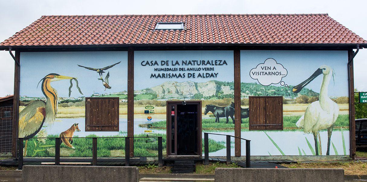 Casa de la Naturaleza Humedales del Anillo Verde - Marismas de Alday