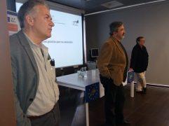 Carlos Sánchez, Jesus Garcia y Juanjo Paredes.