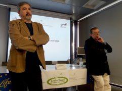 Jesús García (CIMA) y Juanjo Paredes (Ayto. Camargo)