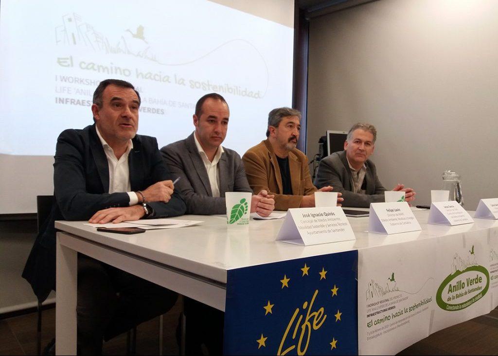 Jose Ignacio Quirós, Felipe Lavín, Jesus Garcia y Carlos Sánchez.