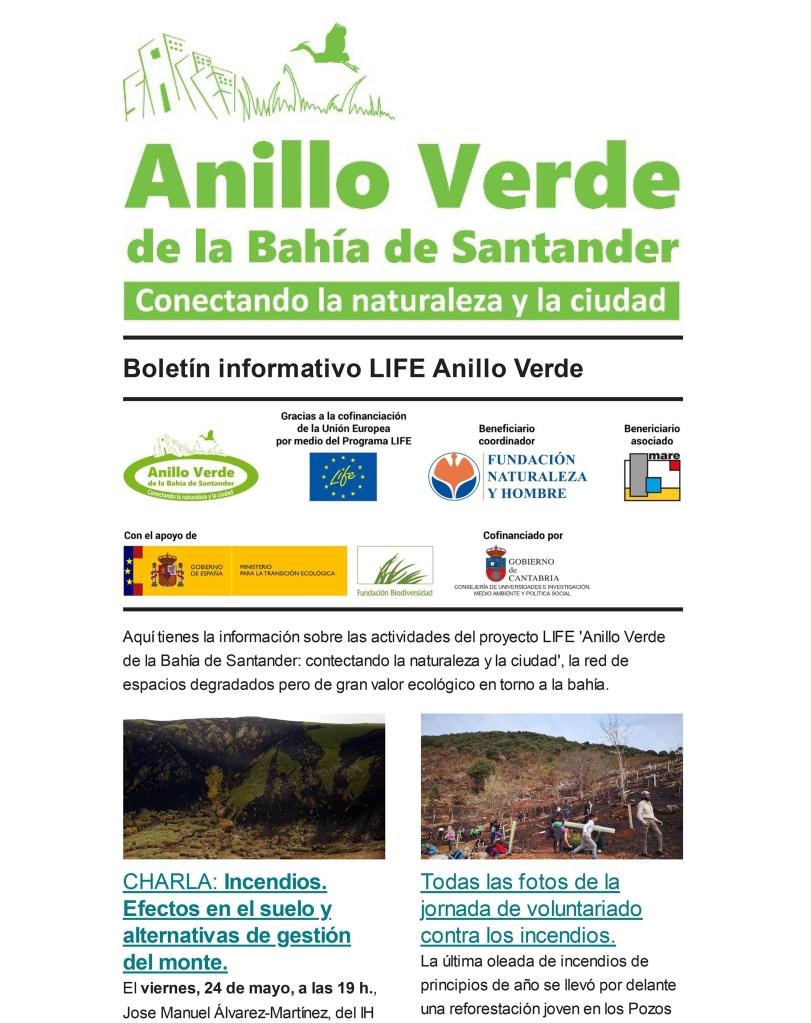 Boletín Informativo del Anillo Verde